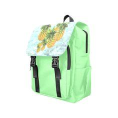 Pineapples Casual Shoulders Backpack. #FREEShipping #artsadd #lbackpacks #fruits