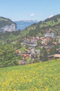 Lauterbrunnen, Switzerland - The Overseas Switzerland In Winter, Places In Switzerland, Jungfraujoch, Alpine Village, Old Trees, Beautiful Places In The World, Day Hike, City Break, Find Picture