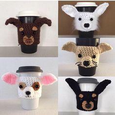 Chihuahua Gift Ideas Chihuahua Mug Cozy by HookedbyAngel on Etsy