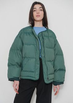 Green Puffy Coat – The Frankie Shop