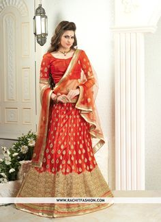 Rachit Fashion helps you to fulfill your dream of wearing trendy ‪#‎lehenga‬ outfit on your ‪#‎wedding‬. Take a look at our exclusive range of ‪#‎weddinglehenga‬ ‪#‎choli‬
