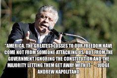 Andrew Napolitano quote