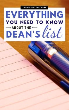 If you're in college or will be, you've likely heard of the Dean's List. What is it, why should students care, and how do you get your name on the list? College Dorm Essentials, College Checklist, College Hacks, College Supplies, College Planning, School Hacks, Girl College Dorms, College Students, College Club