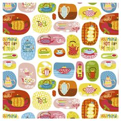 I've seen Helen Dardik's work before and wondered why I haven't blog about it. Her design has such a whimsical, childlike quality to it which I just can't get enough of. Imagine a skirt or even pajamas made from those patterns… I'd buy them in a heartbeat. How can anyone not feel happy looking at her illustrations?