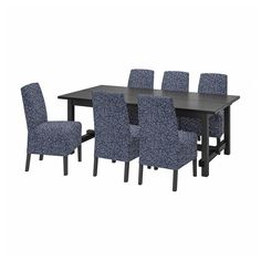 Nordviken Bergmund (IKEA Dining Sets up to 6 Seats) ( Furniture > Dining Furniture > Dining Table Chair > Dining Sets ) #99408298