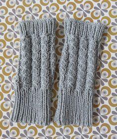 Tuto tricot: des mitaines