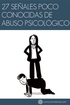 27 Señales poco conocidas de abuso psicológico #mente #autoayuda
