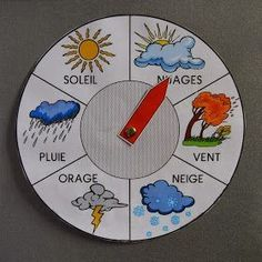 What's the weather like today? Chart of possible forecasts for child to determine and learn. - Today Pin - What's the weather like today? Chart of possible forecasts for child to determine and learn. Montessori Activities, Infant Activities, Montessori Baby, Preschool Activities, Montessori Kindergarten, Weather Like Today, Diy For Kids, Crafts For Kids, Diy Crafts