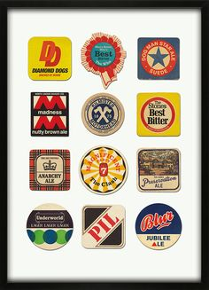 36 Best Beer Coasters Collections Display Ideas Images