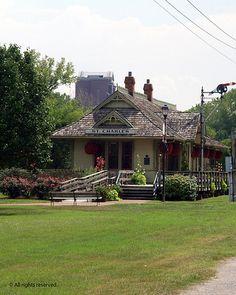 St Charles MO Train Station