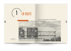 """Gorgeous design """"A Look at Airport Typography"""". Click to view the whole booklet!"""