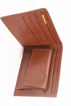 Brown Colored Pure Leather Wallet