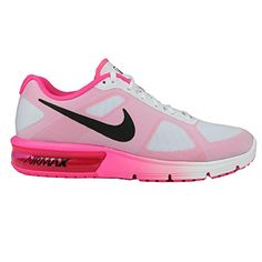 Nike Womens Air Max Sequent Running Shoe 95 BM US WHITEBLACKPINK BLAST * Check out the image by visiting the link.