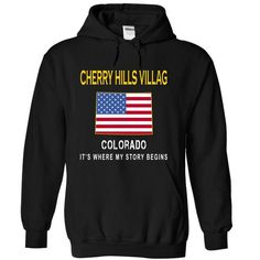 CHERRY HILLS VILLAGE It's Where My Story Begins T Shirts, Hoodies. Get it now ==► https://www.sunfrog.com/States/CHERRY-HILLS-VILLAGE--Its-Where-My-Story-Begins-gztdq-Black-14401274-Hoodie.html?41382 $34