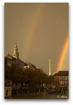 Rainbow over Vismarkt,Groningen stad,the Netherlands,Europe | Flickr - Photo Sharing!