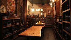 If only I could turn my basement into this! Take the final leap into craft beer geekdom and start a beer cellar now.