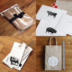 great packaging & hang-tags