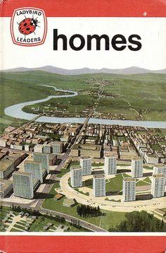 HOMES a Vintage Ladybird Book