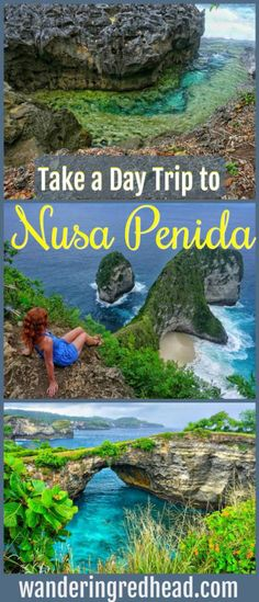 Nusa Penida, Indonesia is a small island off the southeast coast of Bali. It's rugged untouched beauty has virtually no tourists!