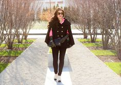 The Girl in the Cape - #Outfit post from Toronto Blogger Jocelyn Caithness