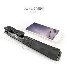 Selfie Stick Monopod Aluminium Every Where Nice Easy Fun Memory Bluetooth Black 2