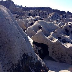 Strange and wonderful #rock formations on the #beautiful #island of Inis Oirr #Ireland #sun #sea #sand #nature [Photo: QueenB] 2015