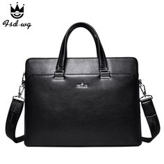 New mens business briefcase shoulder bags mens crossbody bag bolsas famous brand designer mens handbag bolsos wholesale