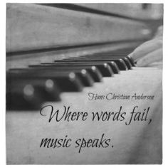 Where Words Fail Music Speaks Wall Art Black and White Music Photography Print Hans Christian Andersen quote Piano keys Piano Quotes, Good Music Quotes, New Quotes, Lyric Quotes, Inspirational Quotes, Singing Quotes, Heart Quotes, Change Quotes, Motivational