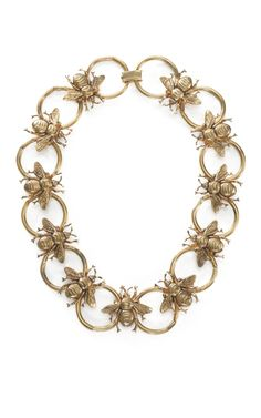 """In the """"Should Have Been Mine"""" category: Carole Tanenbaum Bumble Bee Necklace at Moda Operandi. Bee Jewelry, Insect Jewelry, Jewelry Accessories, Fashion Accessories, Jewelry Crafts, Bijou Box, Bumble Bee Necklace, Bee Theme, Save The Bees"""