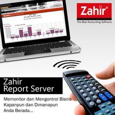 Zahir Report Server.    Memonitor & mengelola usaha menjadi lebih mudah.    Info : http://www.zahiraccounting.com/id/modules/tinycontent/index.php?id=42