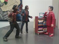 Emilie a des zombies chez elle !