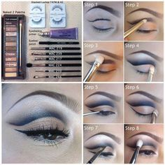 I have such a hard time doing cut crease work.. But practice makes perfect .. And this makes it a but easier .. Good pictorial