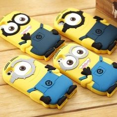 Iphone Samsung Despicable Me 2 Minions Soft Case Cover for iPhone 4/4s/5/5S/5C/Galaxy S3/S4/iPod Touch 4/4g/ 5/5g-Weekly Deals