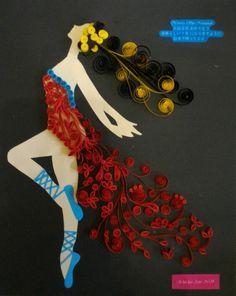 ballerina red dress