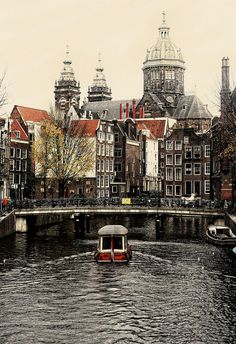 Amsterdam canals.  It's easy to spend a fortune in the Netherlands' stylish capital, but the city has plenty of gratis goodies up for grabs.