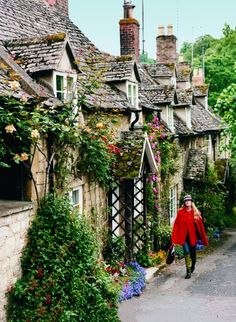 Fairford in the Cotswolds, England