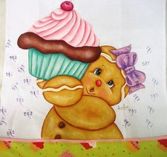 Pano de copa pintado a mão, confeccionado em tecido de algodão estilotex, com opções de cores e temas a serem pintados.