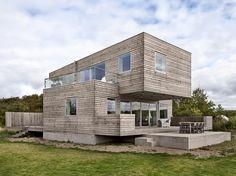 Beach Box House, Onsala, Sweden by Arctic Studio.