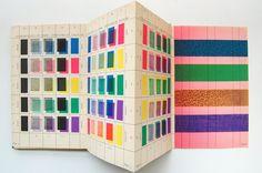 Overprinting colour chart