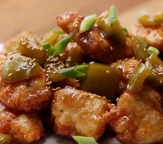 Sweet & Sour Chicken Here is what you'll need! Servings: 2 - 3 INGREDIENTS Chicken 1 pound boneless, skinless chicken breasts, cut into bite-sized Sweet Sour Chicken, Orange Chicken, Tasty Videos, Mets, Asian Recipes, Main Dishes, Chicken Recipes, Cooking Recipes, Dishes Recipes