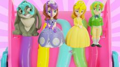 Princess Sofia The First Disney Jr Bath Paint Color Changer Toys Best Learning Video for Kids to Learn Colors. These educational preschool toys make a fun bath time with finger paint to learn colors. They love to ride down a rainbow bath paint slide and get toy surprises. Blind bags and Mashems and Fashems fall from the sky for our characters Sofia the First Princess Amber Minimus Whatnaught Prince James and Clover.  Subscribe here to never miss a video…