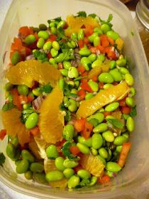 Slice of Southern: Edamame and Orange Salad