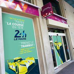 MOSWO | transport | Keolis | Setram | campagne | 24h du Mans | 2015
