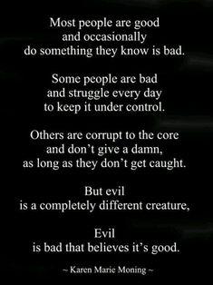 Narcissistic sociopath pure evil!