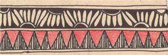 CrazyLassi's Madhubani Art Practice and Research Blog: 43 Madhubani Border Designs