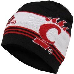 Cincinnati Bearcats, University Of Cincinnati, Fashion Brands, Beanie, Adidas, Sweater, Black And White, Knitting, Jumper