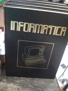 cuatro tomos de enciclopedia de informatica Ediciones nueva lente 1983. 10 euros