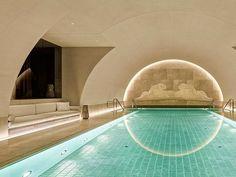 From An Austrian Bank To An International Luxury Hotel: The Park Hyatt Vienna Hotel Swimming Pool, Luxury Swimming Pools, Hotel Pool, Hotel Spa, Most Luxurious Hotels, Best Hotels, Caves, Langer Pool, Vienna Hotel