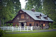 Denali Gable Barn from Barn Pros #barnhome #horse #barndominium