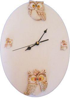 orologio in ceramica da parete